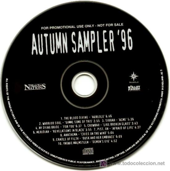 Autumn Sampler '96