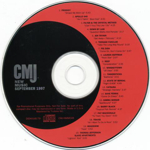 CMJ New Music - September 1997