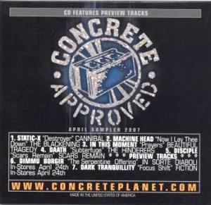 Concrete Approved - April Sampler 2007
