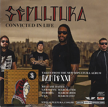 Sepultura - Convicted in Life