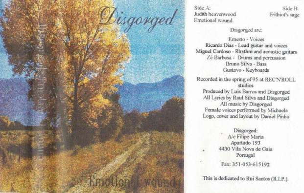 Emotional Wound (as Disgorged) (demo)
