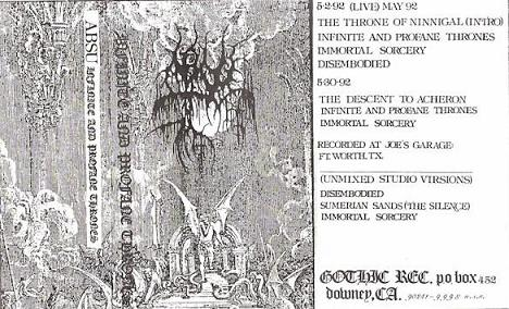 Infinite and Profane Thrones (demo)