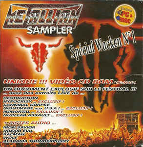 Metallian Sampler - Spécial Wacken N°1 (cd-rom)