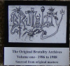 The Original Brutality Archives Volume One - 1986 To 1988