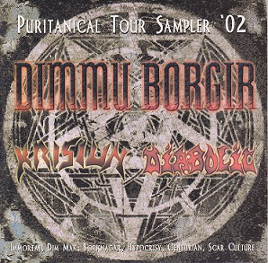 Puritanical Tour Sampler '02