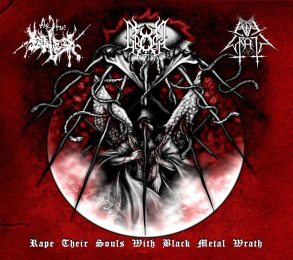 Rape Their Souls with Black Metal Wrath