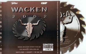 Wacken 2002 Ticket-CD